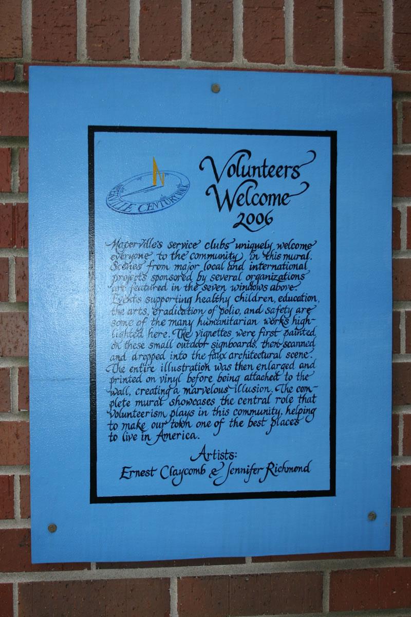 Volunteers Welcome - Image 1