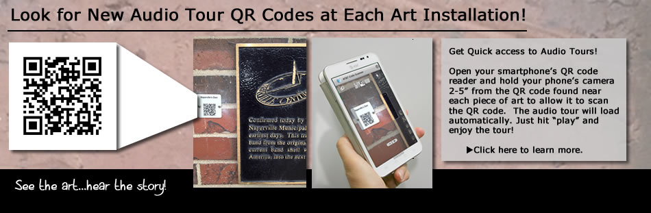 Look for New Audio Tour QR Codes at Each Art Installation!