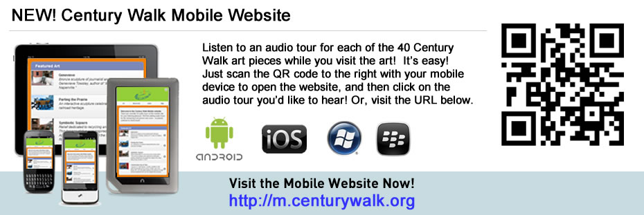 NEW! Century Walk Mobile Website